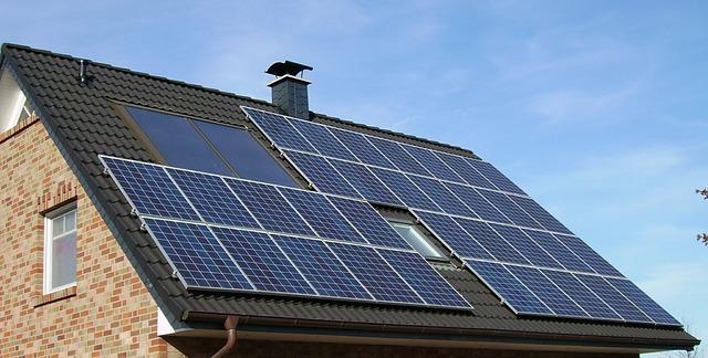 panneaux solaires renouvelable écologie énergie