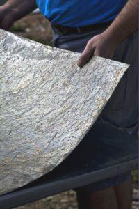 Feuille de pierre: pose et prix,
