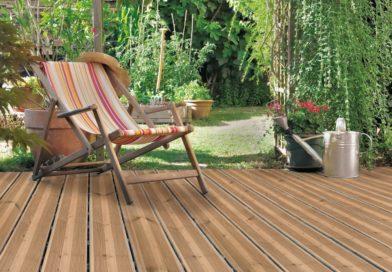 Terrasse bois jardin