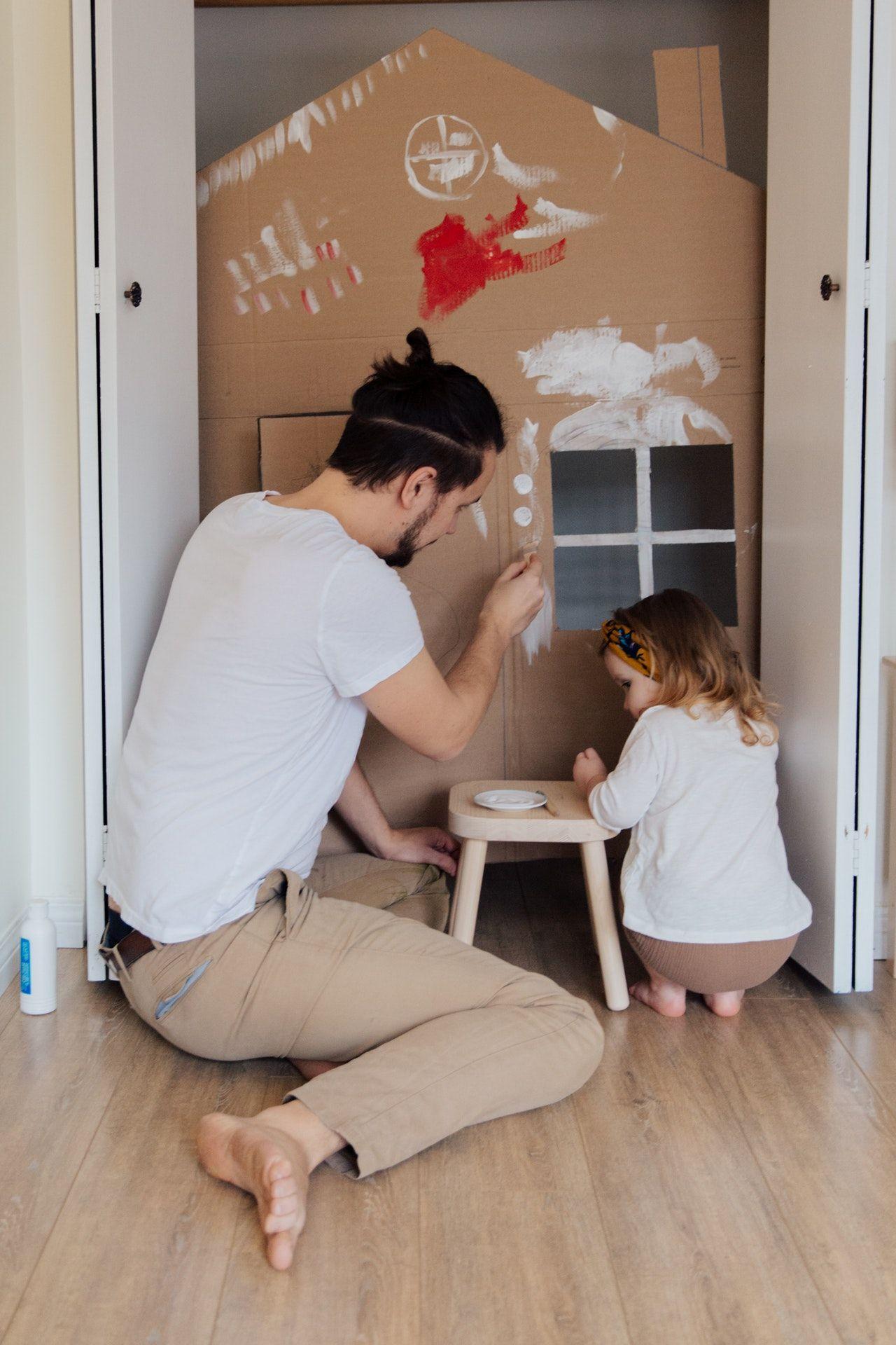 renovation maison enfant jeu