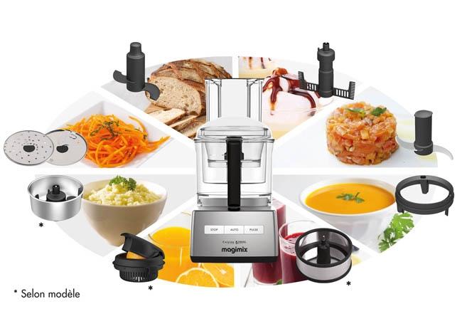 robot de cuisine multifonction Magimix de Moulinex