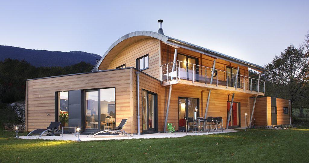 Forme de toiture maison ventana blog for Maison toit tole