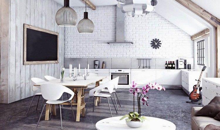 décoration-tendance-suspension-design-table-chaises