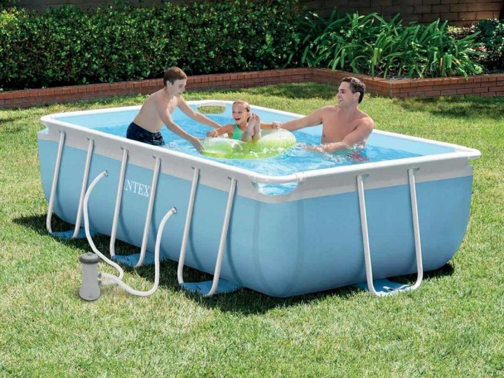 Piscine Tubulaire Terrasse Bois installer une piscine tubulaire chez soi, la solution facile