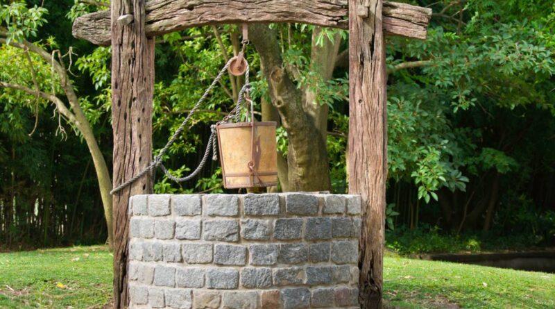 Puits dans son jardin